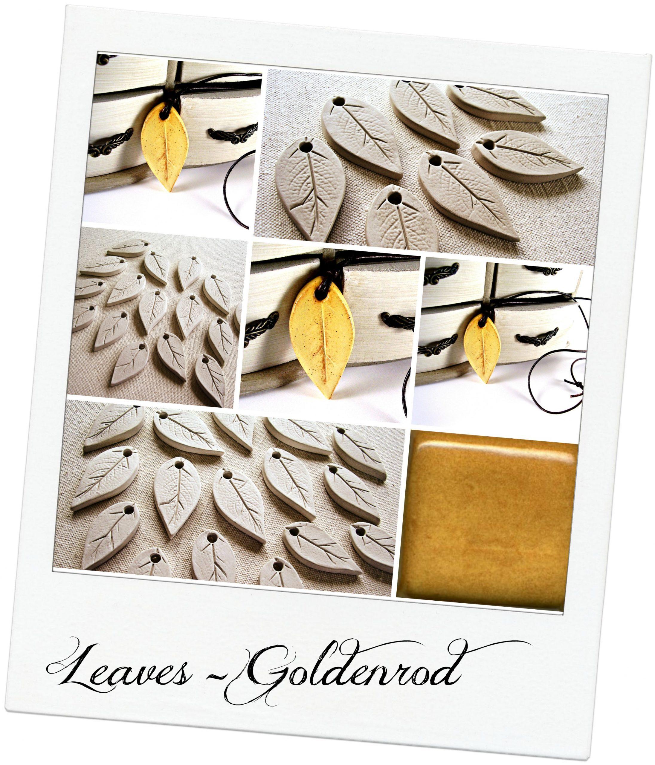 ceramic leaves goldenrod2 with textjpg