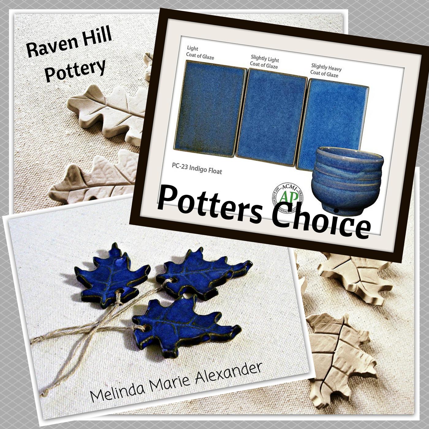 Potters Choice Glaze Indigo Float