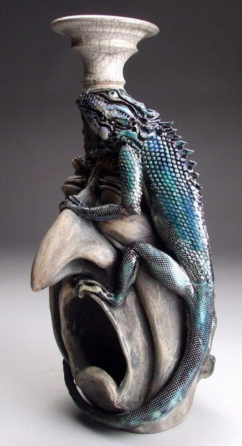 Mitchell Grafton Iguana on Face