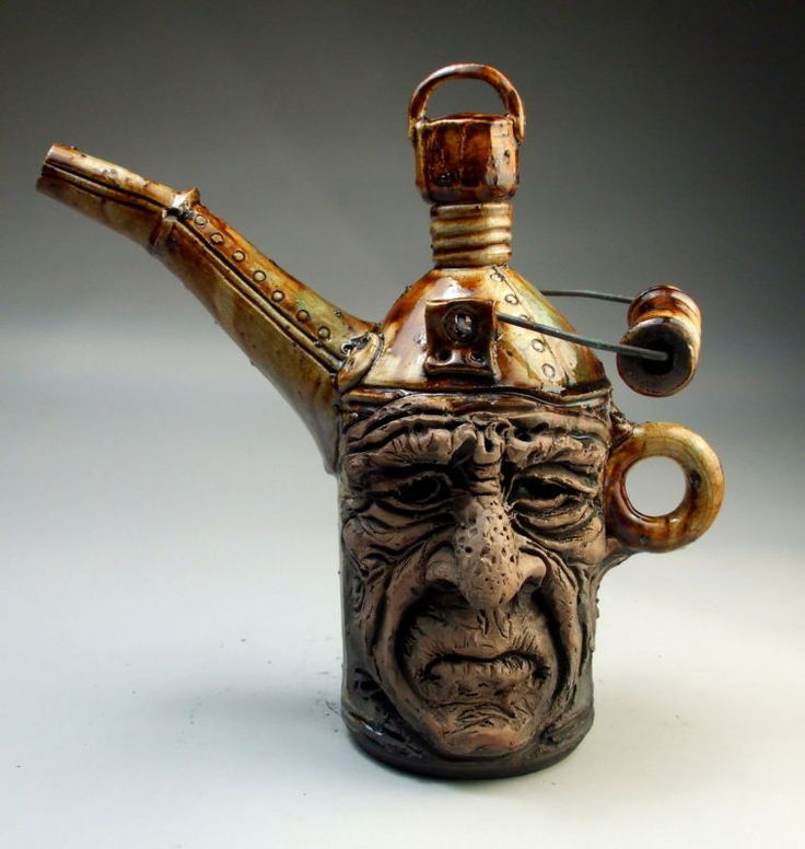 Mitchell Grafton Old Man antique oil can