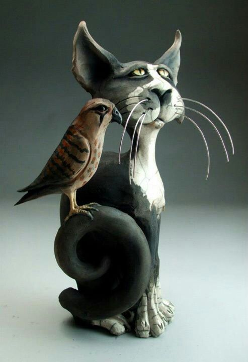 Mitchell Grafton Portrait of a cat