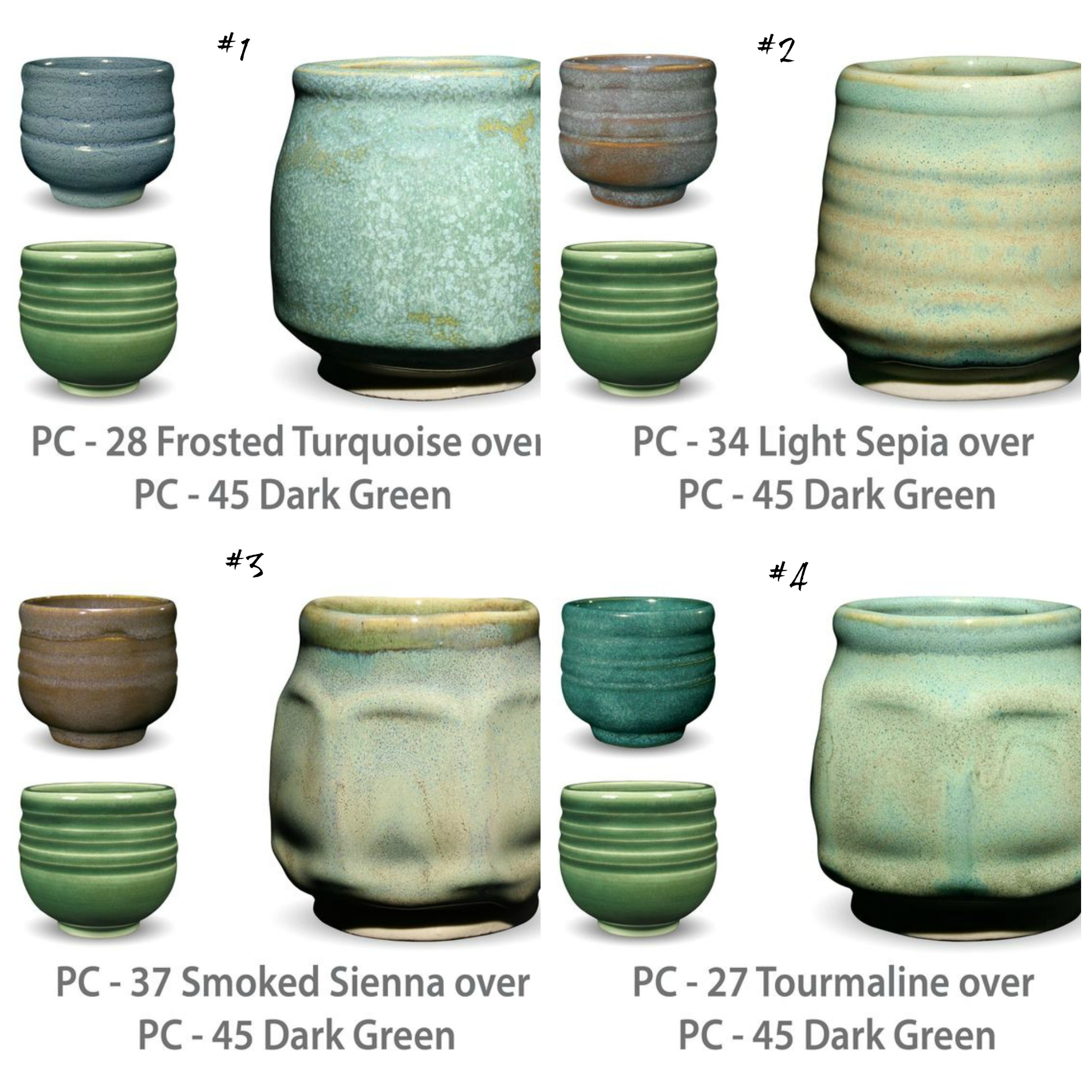 PC glaze combinations5